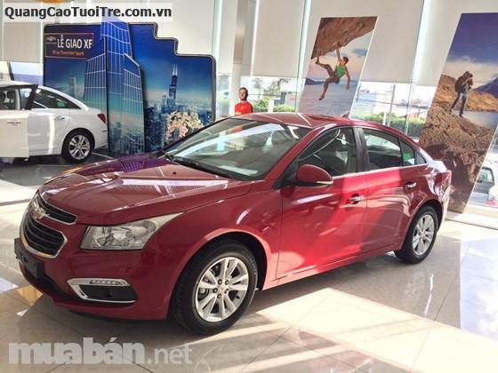 Chevrolet Cruze 2017, Hỗ trợ vay 95%. Thủ tục vay đơn giản không CMTN