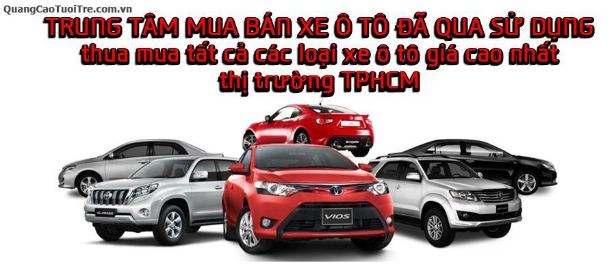Mua nhanh các loại xe từ 4 đến 7 chổ