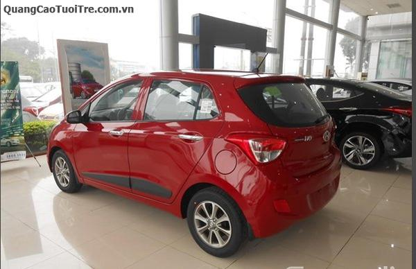 Hyundai i10 hỗ trợ mua trả góp 80%, giao xe ngay