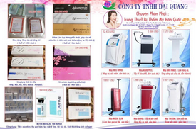 Chuyên Phân phối trang thiết bị thẩm mỹ, mỹ phẩm Hàn Quốc