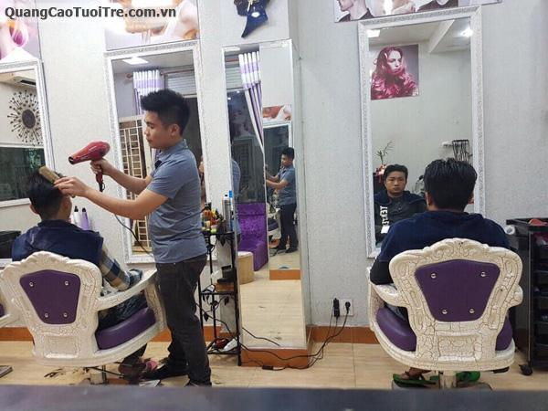 Salon tóc Minh Chung cần tuyển :2 thợ nam