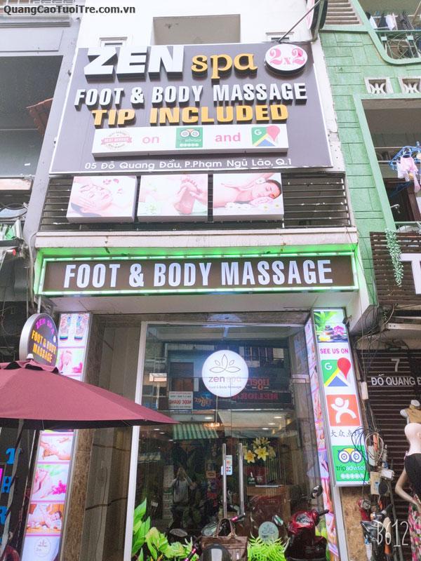 Zen Spa Chuyên Foot + Massage Body tuyển KTV