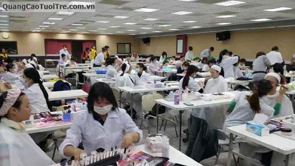 Chuỗi Spa Quốc tế Xiao Wei Beauty TUYỂN SINH ngành NAIL