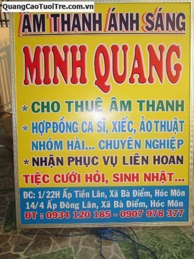 Âm thanh ánh sáng Minh Quang