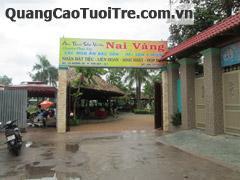 Ẩm thực sân vườn NAI VÀNG tại quận 7