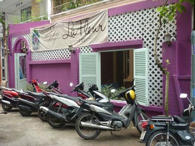 Cafe La Fleur phong cách Pháp trên đất Việt