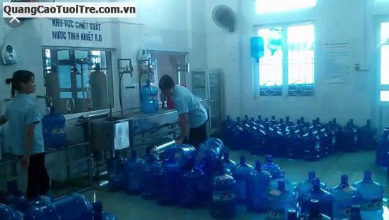 Cần tuyển 20 nhân viên nam làm ở cơ sở sản xuất nước