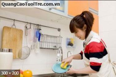 Cần tuyển gấp 1 nữ giúp việc chuyên nấu ăn và dọn dẹp nhà cửa tại Quận 2.
