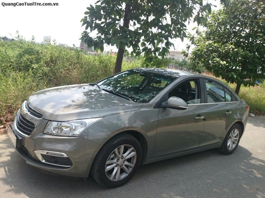 Cho thuê xe Chevrolet cruze 4 chỗ đời mới 2017