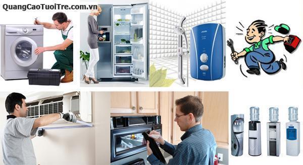 Chuyên mua bán, sửa chửa  máy lạnh, tủ lạnh, máy giặt, tủ đông