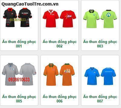 Chuyên sản xuất và nhận may áo đồng phục
