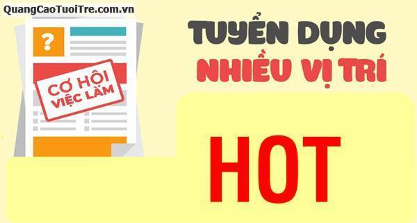 Công ty TNHH SX TM DV Trần Hùng cần tuyển