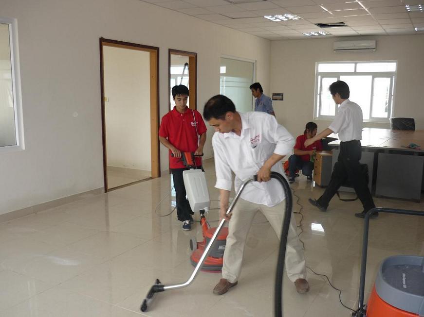 Cung cấp dịch vụ vệ sinh công nghiệp tại TP Hồ Chí Minh