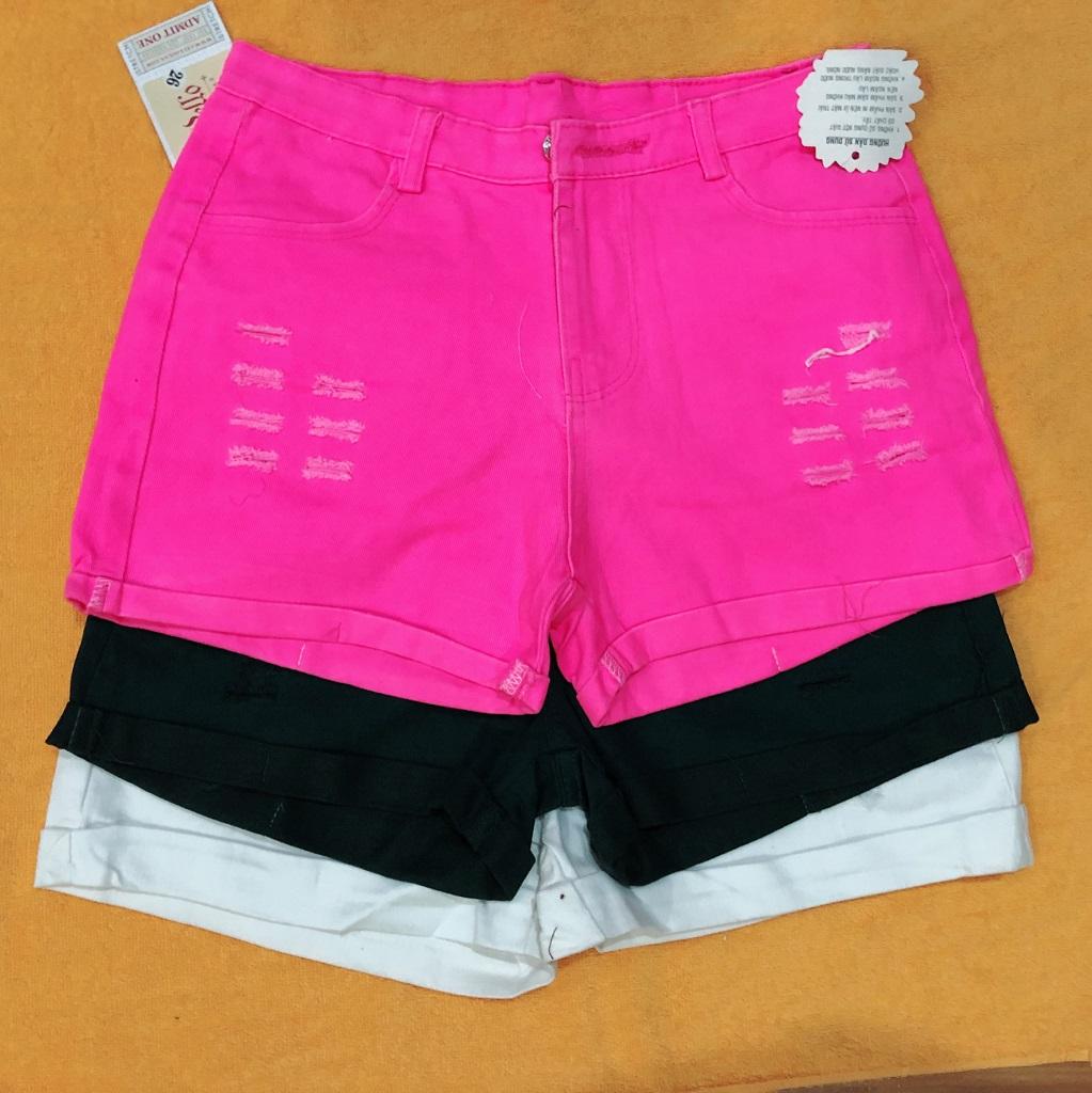 Bán sỉ quần short kaki nữ nhiều màu hàng đủ size giá sỉ cực rẻ