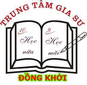 Gia sư Đồng Khởi cung cấp dịch vụ gia sư tại nhà