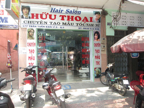 Hair salon Hữu Thoại tưng bừng khuyến mãi giảm 50%