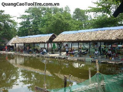 Hồ câu cá giải trí Ngọc Linh - Bình Quới, Thanh Đa