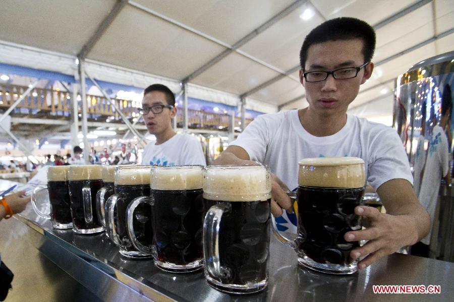 Hội quán bia đen phố Việt, hội những người yêu thích bia tươi ĐỨC