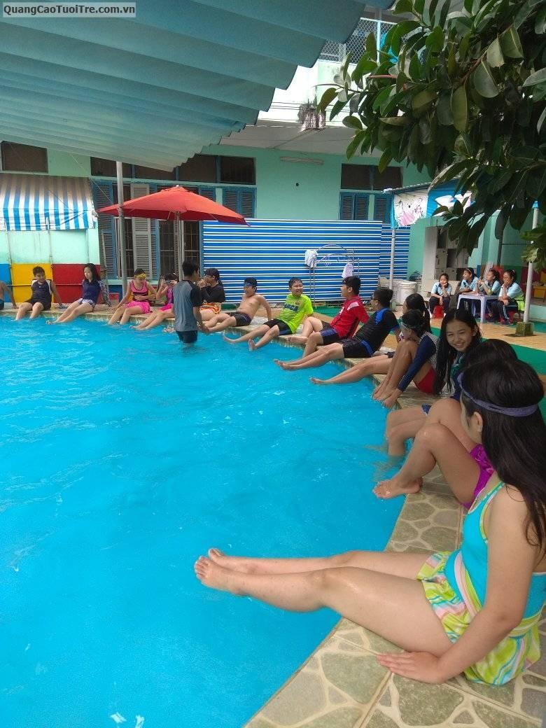 Khai giảng các lớp học bơi cho trẻ