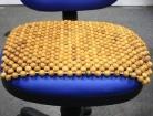 Lót ghế văn phòng, chiếu hạt gỗ làm từ gỗ pơ mu