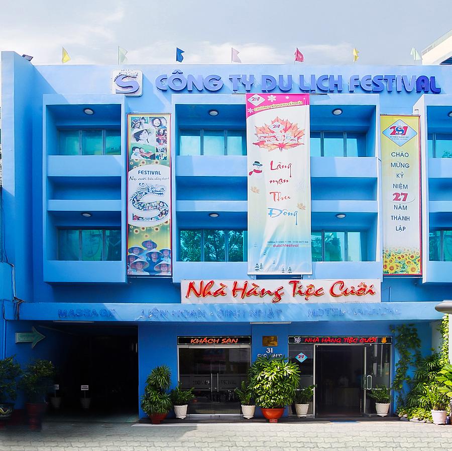 Nhà hàng - khách sạn Festival 31 Cao Thắng, Q.3