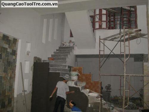 Nhận sửa nhà củ, lót gạch, thạch cao, sơn nước