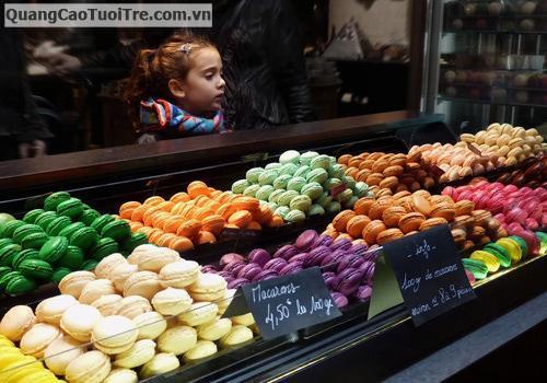 Nữ hoàng của các nữ hoàng bánh ngọt: Macaron