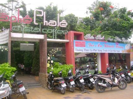 Pha Lê café, một lựa chọn mới  không gian riêng tư và lãng mạn