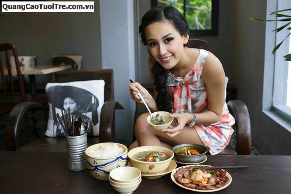 Quán ăn Hải Việt, chuyên phục vụ các món ăn bình dân