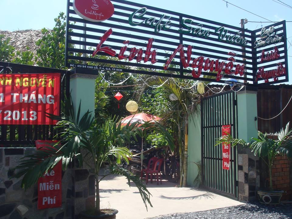 Quán cafe sân vườn Linh Nguyễn