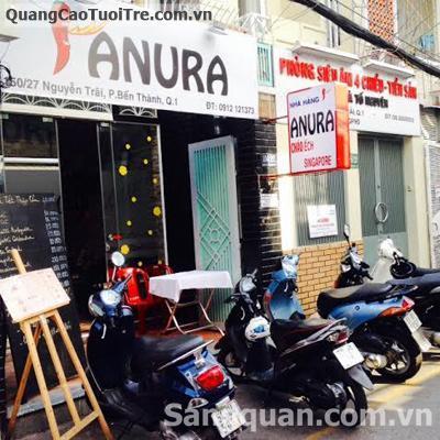Sang nhà hàng Anura 150/27 đường Nguyễn Trãi , Quận 1