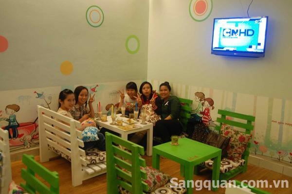 Sang quán trà sữa 77 Xuân Hồng ,P12,Q.Tân Bình