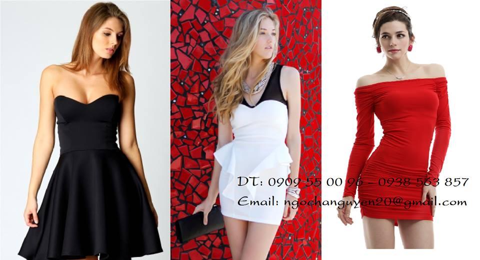 Thời trang H & T chuyên đầm, quần áo hotgirl