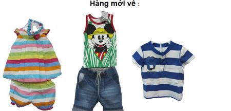Thời trang trẻ em- Shop Bé Yêu