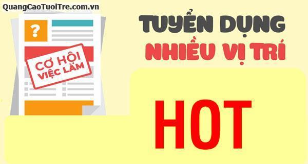 Thông báo tuyển dụng nv tại tphcm và các tỉnh lân cận