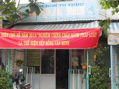 Trường mầm non tư thục Họa Mi quận Bình Tân