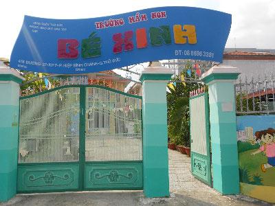 Trường mầm non Tư Thục Bé Xinh