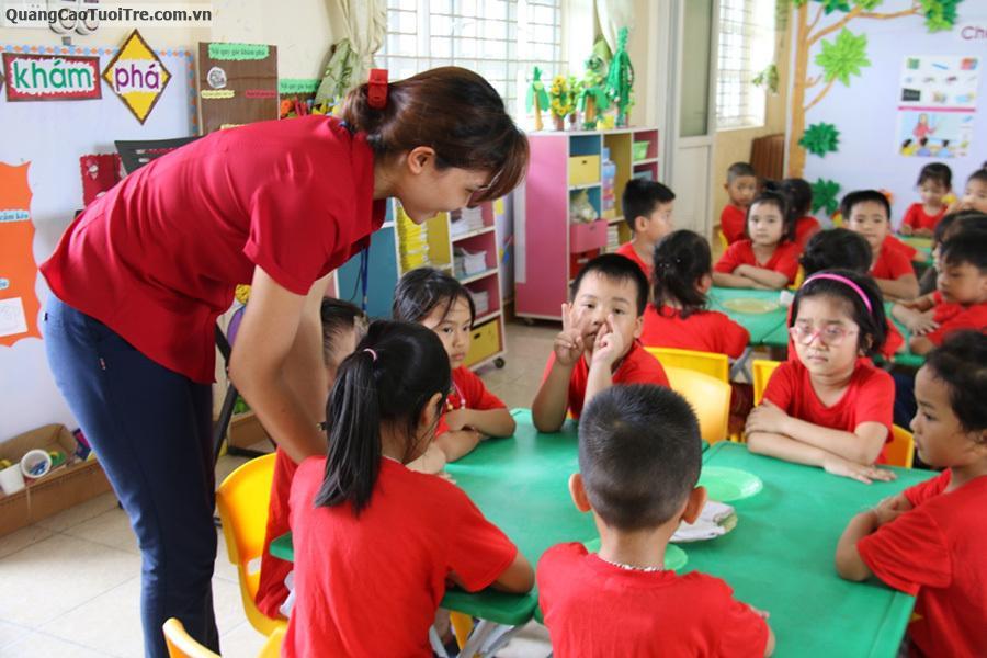 Trường mẫu giáo Tuổi Ngọc quận Gò Vấp