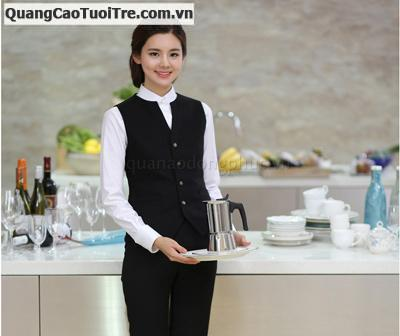 Tuyển NV  nữ phục vụ Cafe - Bar khu phố tây